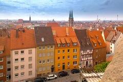 Skyline of Nuremberg, Germany Stock Images