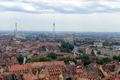 Skyline of Nuremberg Royalty Free Stock Photography