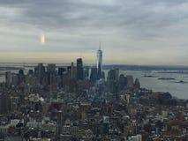 Skyline NYC de Manhattan Imagens de Stock
