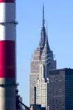 Skyline NYC do arranha-céus fotografia de stock