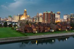 Free Skyline Of Buffalo New York Stock Photo - 118805440