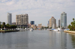 Skyline Of St. Petersburg, Florida Royalty Free Stock Images