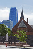 Skyline of Oklahoma City Stock Image
