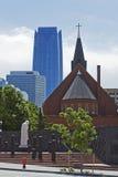 Skyline of Oklahoma City. A view of Skyline of Oklahoma City, Oklahoma, USA Stock Image