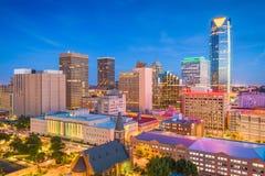 Skyline Oklahoma City, Oklahoma, USA stockbilder
