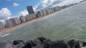 Skyline Oostende stockbilder