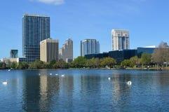Skyline-Orlando-Panorama stockfoto
