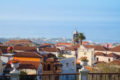 Skyline  of Orotava, Tenerife Stock Images