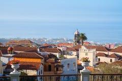 Skyline  of Orotava, Tenerife Stock Images