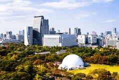 Skyline of Osaka Stock Photo