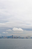 Skyline of Panama City Royalty Free Stock Images
