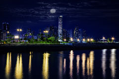 Skyline of Panama city Stock Photo