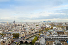 Skyline of Paris Royalty Free Stock Image