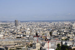 Skyline of Paris city Royalty Free Stock Photos