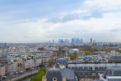 Skyline of Paris, France Stock Photos