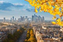 Skyline of Paris, France Stock Image