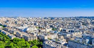 Skyline of Paris Stock Photo