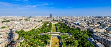 Skyline of Paris Stock Image