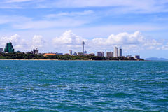 Skyline of Pattaya Stock Photo
