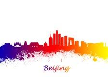Skyline Pekings China stockfotografie