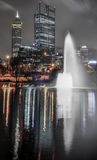 Skyline of Perth Royalty Free Stock Photography