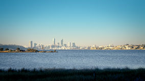 Skyline of Perth Stock Photo