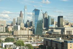 Skyline in Philadelphia Stock Image