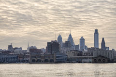 Skyline of Philadelphia Royalty Free Stock Image
