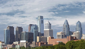 Skyline of Philadelphia Pennsylvania stock images