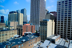 Skyline in Philadelphia Royalty Free Stock Photo