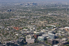 Skyline of Phoenix, Arizona Royalty Free Stock Image