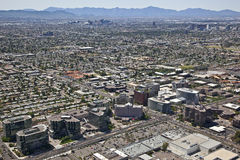 Skyline of Phoenix, Arizona Stock Photo