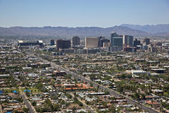 Skyline of Phoenix, Arizona Stock Image