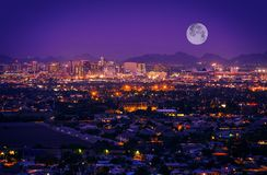 Skyline Phoenix Arizona Lizenzfreies Stockbild
