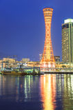 Skyline of Port of Kobe Stock Photography
