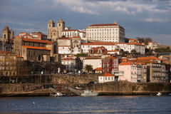 Skyline of Porto in Portugal Royalty Free Stock Photography