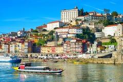 Skyline of Porto, Portugal Royalty Free Stock Photo