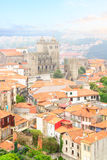 Skyline of Porto, Portugal stock photos
