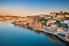 Skyline of Porto, Portugal stock image