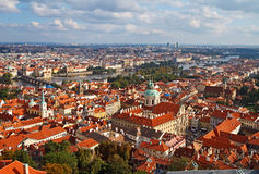 Skyline of Prague Stock Photos