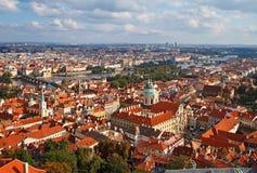 Skyline of Prague Stock Photos