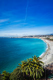 Skyline promenade of Nice, France Royalty Free Stock Photo