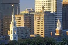 Skyline of Providence, RI Stock Photos