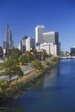 Skyline of Providence, RI Stock Photo