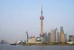 Skyline Pudong Fotografia de Stock