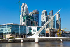 Skyline of Puerto Madero Royalty Free Stock Photo