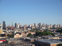 Skyline from Queens. New york buildings Stock Photography