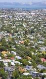 Skyline residencial de Auckland fotos de stock royalty free