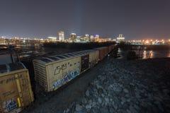Skyline of Richmond, Virginia Stock Photos