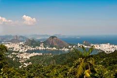 Skyline Rio de janeiro, Brasil foto de stock